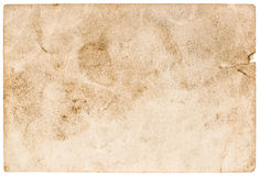 Stained used paper background. grunge texture Royalty Free Stock Images