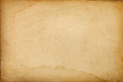 Stained vintage paper background royalty free stock photography