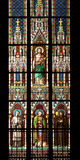 Stained window Royalty Free Stock Photography