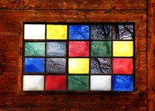 Stained window Royalty Free Stock Photos