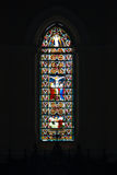 Stained window in catolic temple in Galle fort, Sri Lanka Stock Photos