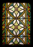 Stained window Hungarian Parliament, Hungary Stock Image