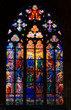 Stained window Royalty Free Stock Photo