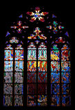 Stained window Royalty Free Stock Image