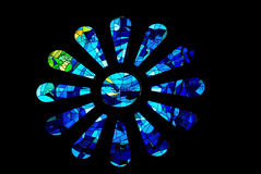 Stained windows royalty free stock photo