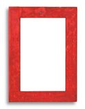 Stained wood frame Royalty Free Stock Images