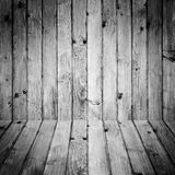 Stained wooden floor wall background Stock Image