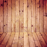 Stained wooden floor wall background Royalty Free Stock Photography