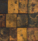 Stained Wooden Printing Blocks Royalty Free Stock Photo
