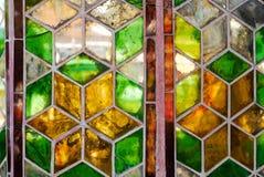 Stainglass sales de vintage photo stock