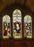 stainglassfönster royaltyfri bild