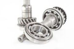 Stainless bearing, shaft Stock Photo
