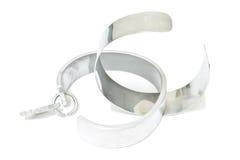 Stainless bracelet Stock Photo