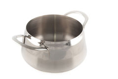 Stainless cauldron Stock Photos