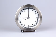 Stainless clock Stock Images
