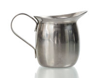 Stainless Creamer Royalty Free Stock Photography