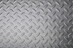 Stainless diamond plate Stock Photo