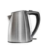 Stainless electric kettle isolated over white Royalty Free Stock Image