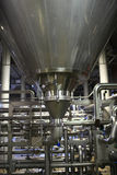 Stainless equipment of brewery Stock Images