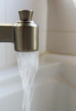 Stainless Faucet Stock Photography