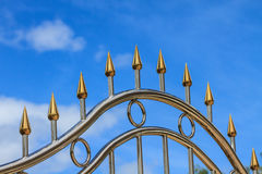 Stainless fence Stock Photography
