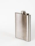 Stainless flask  Stock Image