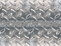 Stainless floor background. A textured metal background in stainless with a raised flooring pattern royalty free illustration