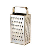 Stainless grater Royalty Free Stock Photography