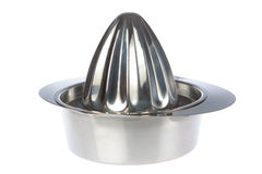 Stainless Juicer squeezer. Royalty Free Stock Photography