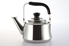 Stainless Kettle Royalty Free Stock Images