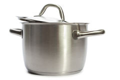 Stainless pan Royalty Free Stock Photography