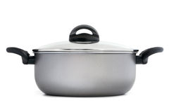 Stainless pan Stock Photography