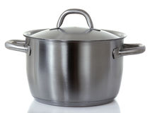 Stainless pan Stock Photos