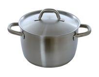 Stainless pan Stock Image
