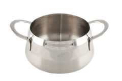 Stainless pot Royalty Free Stock Photography