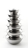 Stainless pot Royalty Free Stock Photo