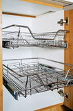 Stainless Rack Royalty Free Stock Image