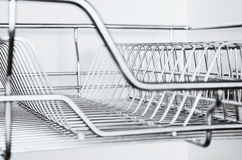 Stainless Rack Stock Photo