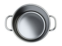 Stainless saucepan. Stock Images