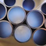 Stainless Steal Pipes Stock Images