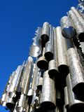 Stainless Steel. Pipes Stock Photo