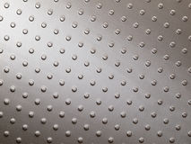 Stainless steel. Metal surface of floor panel Royalty Free Stock Photos
