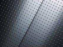 Stainless steel. Interior floor panels Stock Photo