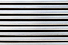 Stainless steel air vent closeup on building Stock Images