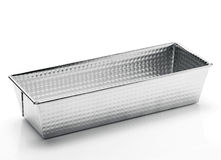 Stainless steel baking mold Stock Image