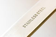 Stainless steel bar Stock Images
