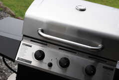 Stainless Steel Barbeque Royalty Free Stock Image