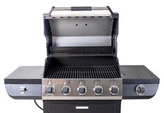 Stainless Steel BBQ Grill Stock Photography