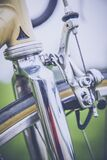 Stainless Steel Bicycle Frame Royalty Free Stock Photo