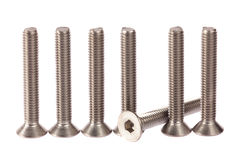 Stainless steel bolts stock images